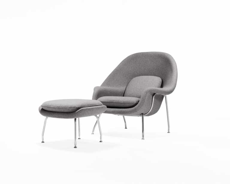 Elegant ... Womb Chair And Ottoman. Rove Classics