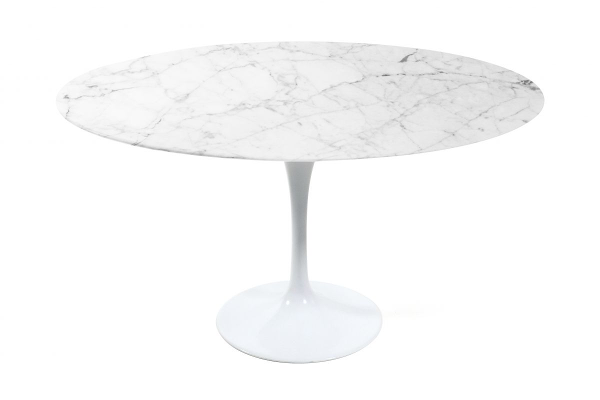 Tulip Table Marble Eero Saarinen Reproduction